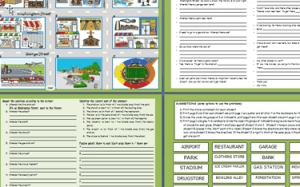 English Activity Worksheets